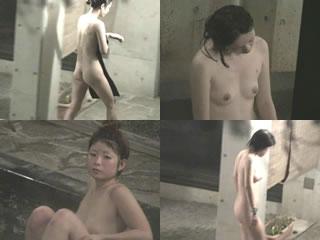 夜行露天盗撮 漁火に輝く女体 FILE01-1