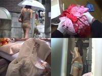 下着泥棒日記!ピッキング侵入して洗濯物やタンスを漁る超危険犯罪映像
