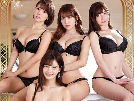 密着フォーメーションASMR 超高級4Pソープご奉仕Special-10