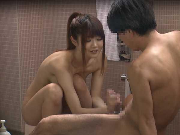 巨乳限定!強制混浴露天風呂-10