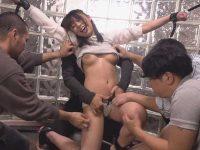 悶絶くすぐり責め!手足を拘束して容赦なく続く拷問で笑い死に寸前