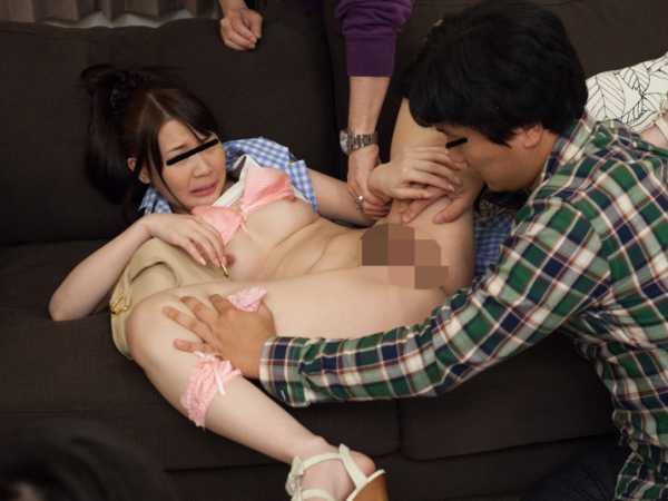 寝取られカップル強姦-6