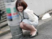 リモコンバイブお散歩!街中の羞恥プレイでビクビク震えてイキまくる女子