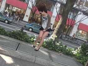 盗撮!!誘導風パンツ2-1