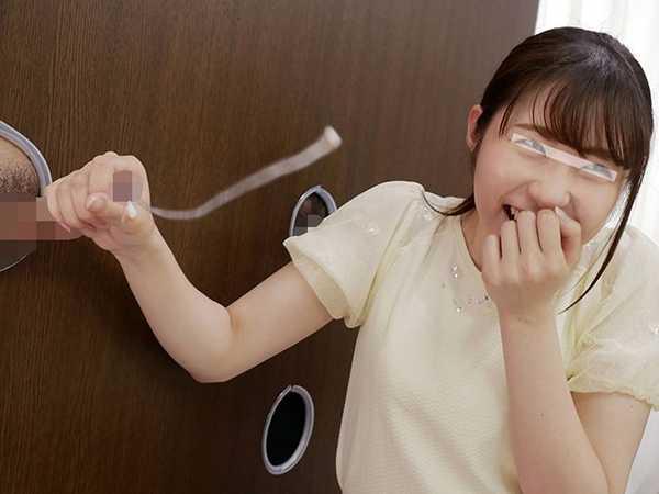 素人女子大生が無数に生えた壁ち○ぽの即ヌキに挑戦2-4