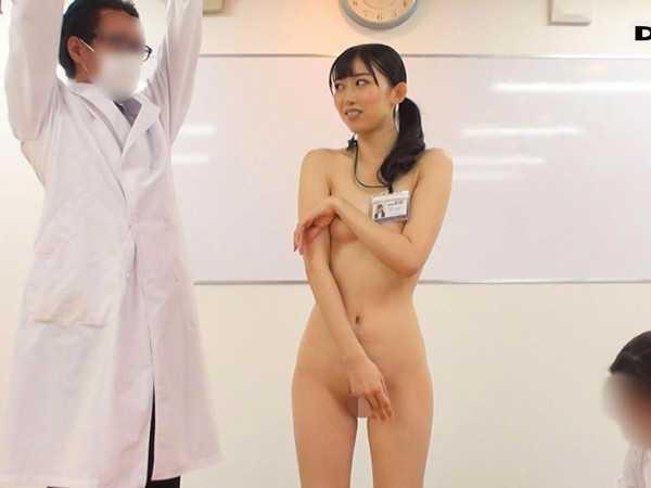 SOD女子社員全裸健康診断9