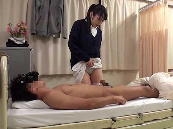 働く本物看護師に惚れちゃった一般男性患者がマジ告白-8