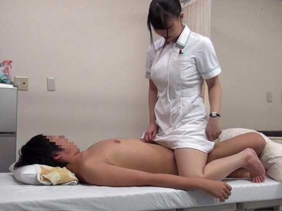 働く本物看護師に惚れちゃった一般男性患者がマジ告白-14