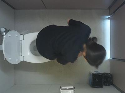 体育館の横のトイレ潜入vol.44-3